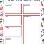 4Th Of July Worksheets To Free Download. 4Th Of July