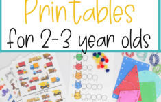 Toddler Activities Printable 3 Year