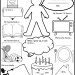 6 Best All About Me Printable Template   Printablee