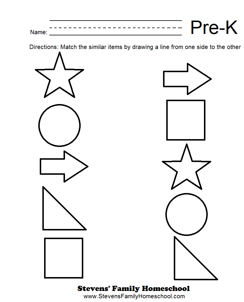 6 Best Images Of Pre-K Worksheets Packets Printable - Free