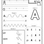 A Z Letter Worksheets (Set 3)   Alphabet Worksheets