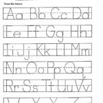 Abc Printable Worksheet For Kindergarten | Letter
