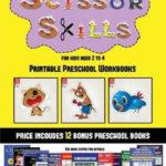 Bol | Printable Preschool Workbooks (Scissor Skills For
