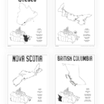 Canada Geography Printable Worksheets For Homeschool