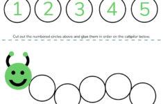 Numbers 1-5 Preschool Worksheets