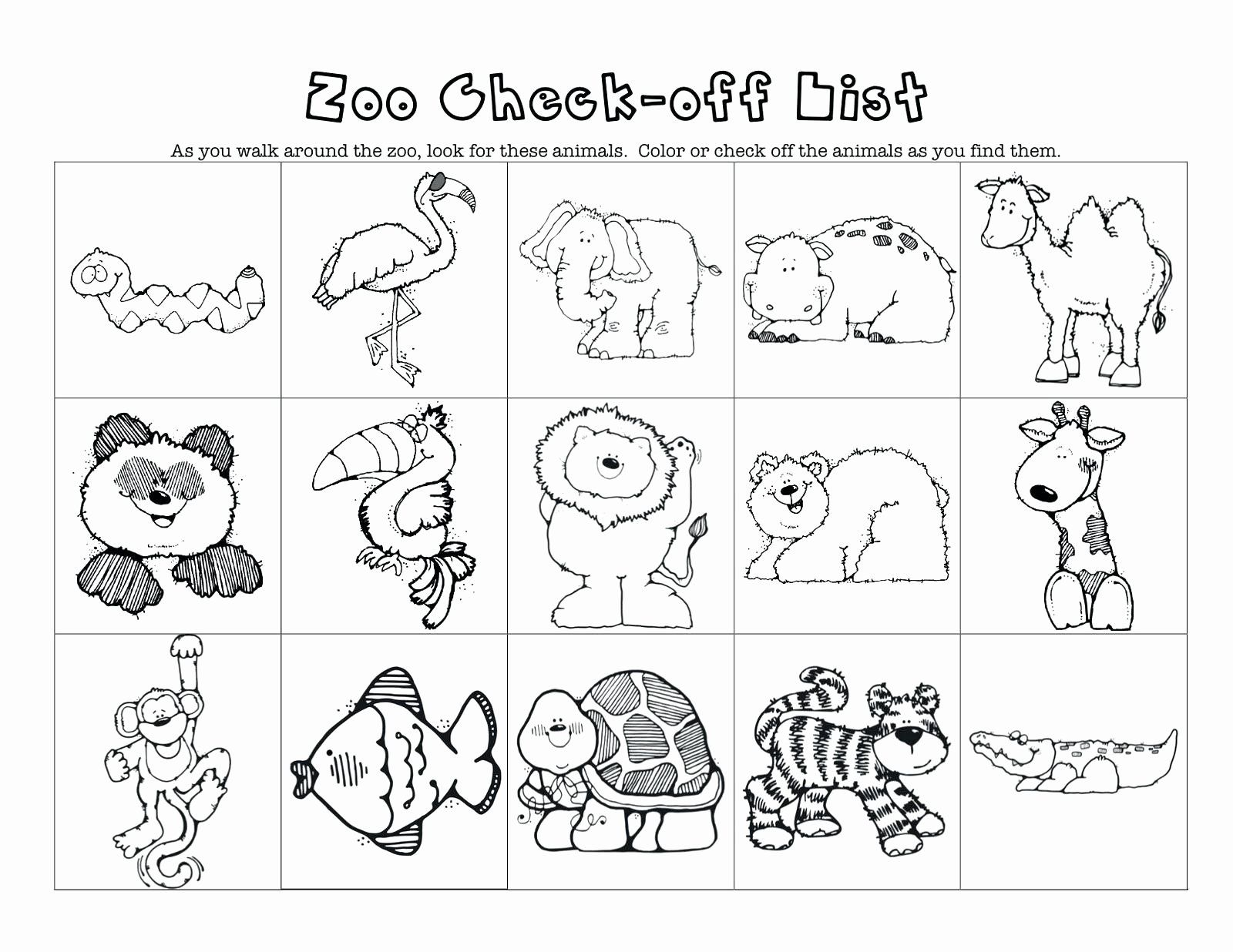 Coloring Pages Zoo Animals Preschool Awesome Z Is For Zoo