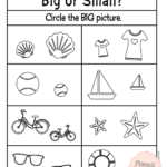 Comparing Size: Big And Small Worksheets For Your Busy