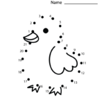 Connect The Dot Worksheet | Dot Worksheets, Connect The Dots