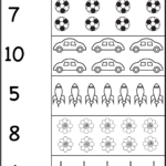 Counting – Six Worksheets / Free Printable Worksheets