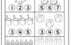 Preschool Worksheets Counting