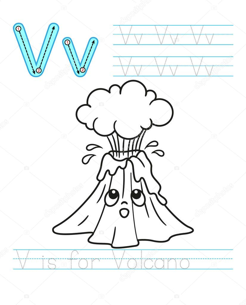 ✅ Coloring Book Page. Printable Worksheet For Kindergarten