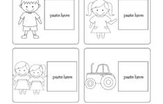 Preschool Worksheets English