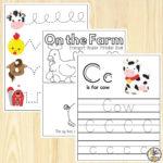 Farm Preschool Worksheets: Free Printables For Preschools