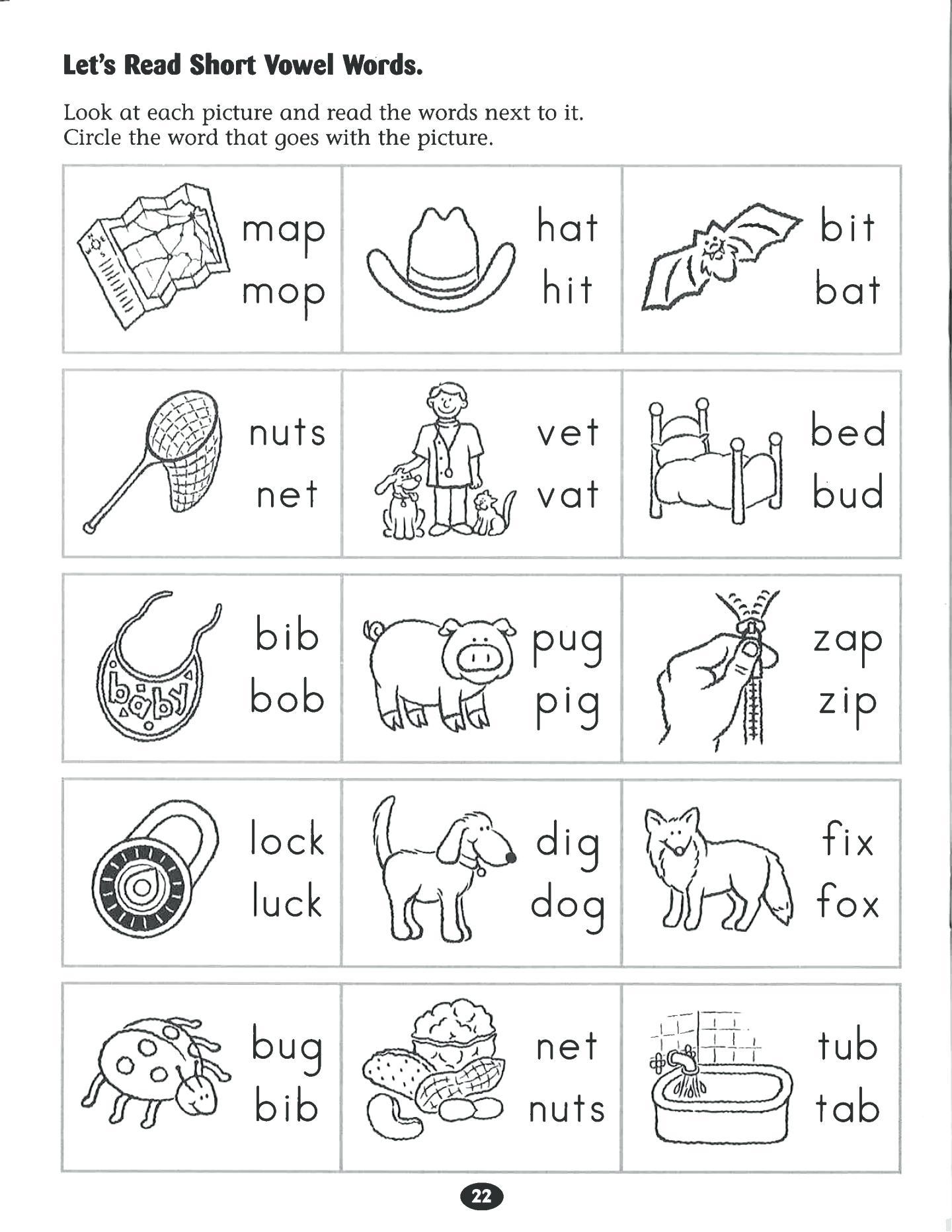 Free English Worksheets For Kindergarten – Doctorbedancing