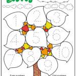 Free Fall Leaves Worksheets For Preschool And Kindergarten