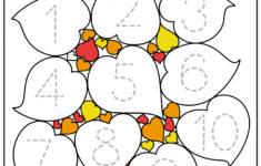 Preschool Worksheets Fall