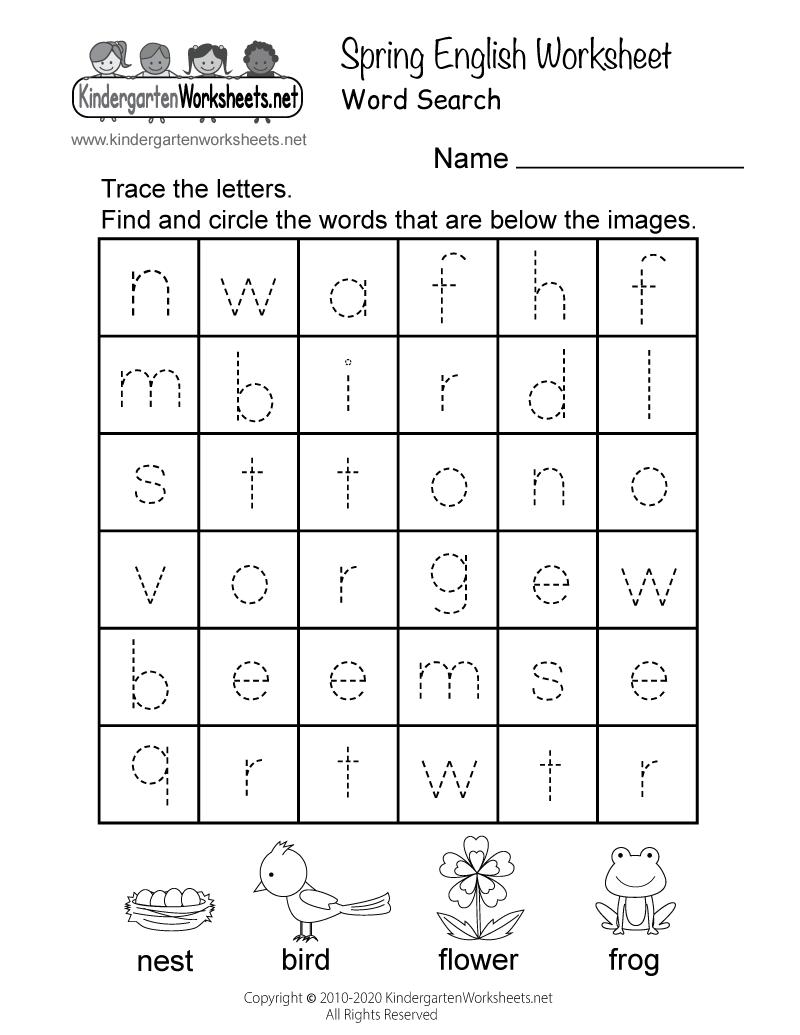 Free Getting Ready For Kindergarten Worksheetsreschoolersdf
