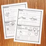 Free Kindergarten Homework   Simply Kinder