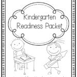Free Kindergarten Readiness Packet