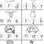 Free Letters And Sounds Worksheet   Kindermomma