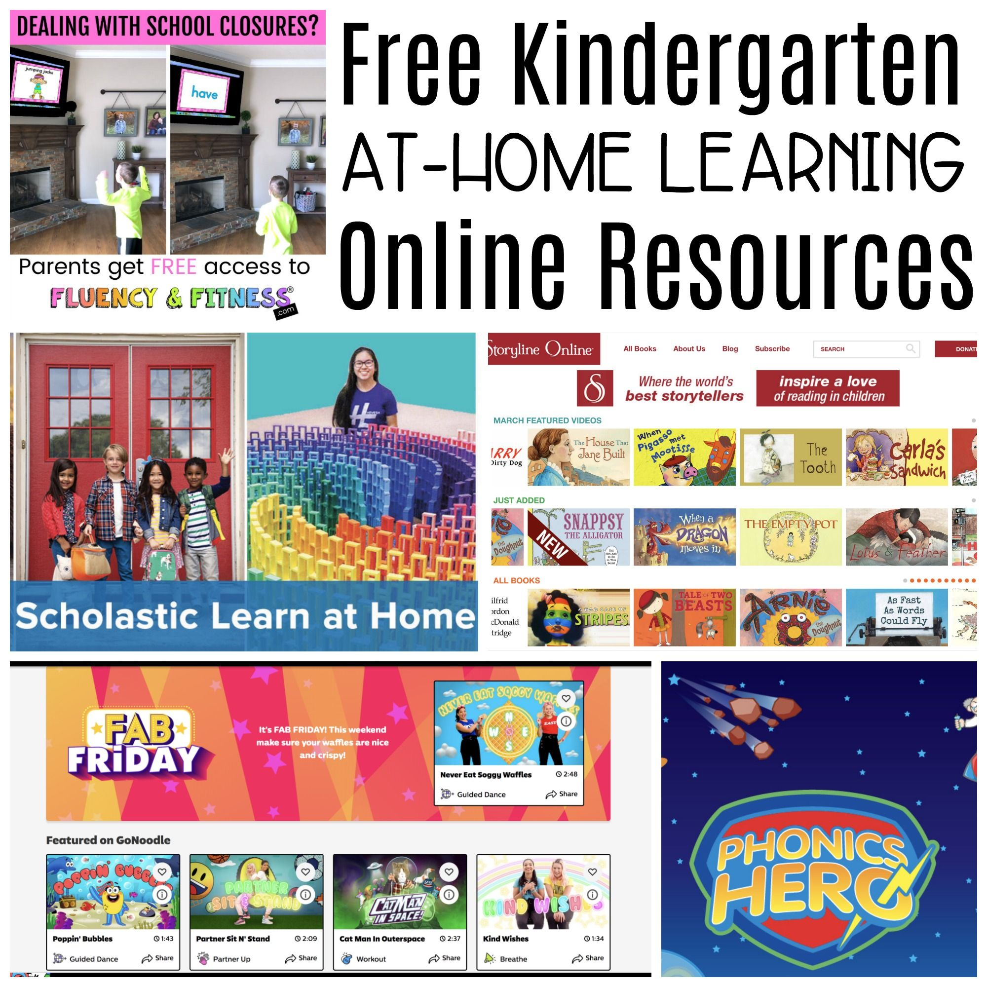 Free Online Resources For Learning At Home - Differentiated