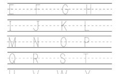Free Printable Handwriting Practice Worksheet For