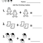 Free Printable Holiday Worksheets | Free Christmas Cookies