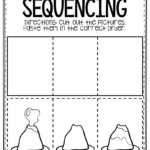 Free Printable Sequencing Preschool Worksheets Volcano   The