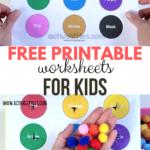 Free Printable Toddler Worksheets   Active Littles
