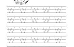 Letter W Preschool Worksheets