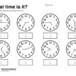 Free Printable Worksheets For Preschool   The Link Above To