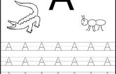 Preschool Worksheets Tracing Letters
