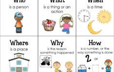 Preschool Wh Questions Worksheets