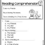 Free Reading Comprehension | Kindergarten Reading Worksheets