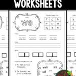 Free Sight Words Worksheets (Kindergarten) | Kindergarten