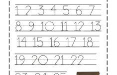 Preschool Worksheets Name