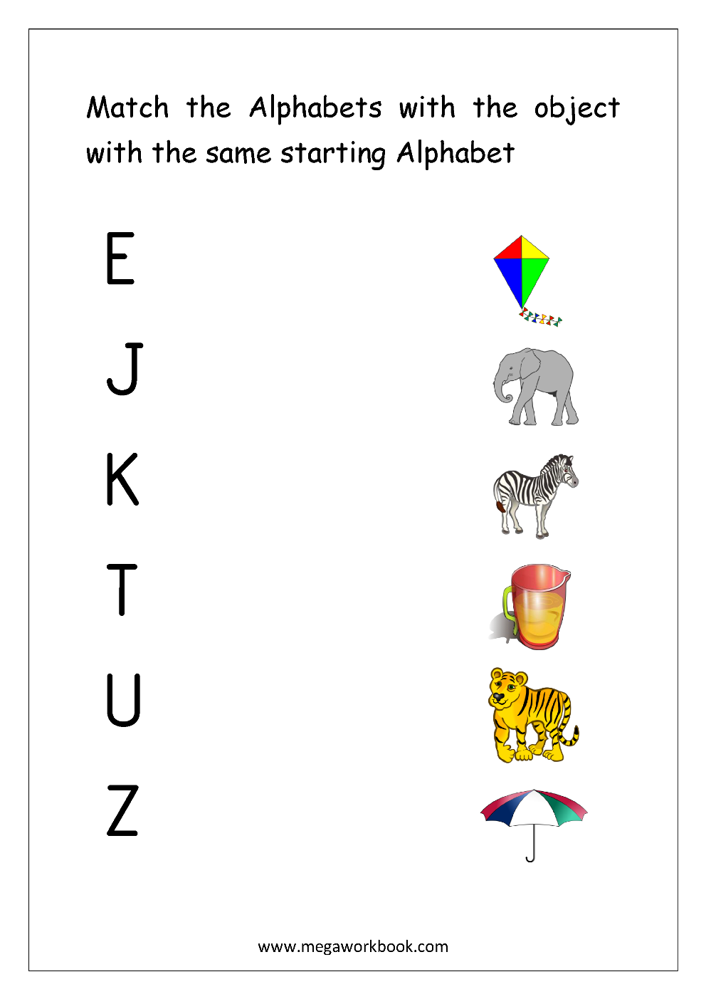 Free Worksheets For Preschool Shadow Matching Students