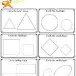 Kids Under 7: Big And Small Worksheet