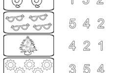 Preschool Worksheets Printable Numbers