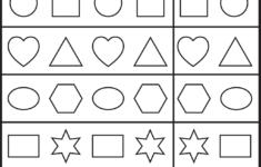 Preschool Worksheets Printable Packets