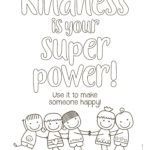 Kindness Coloring Pages, Kindness Activities, Kindness