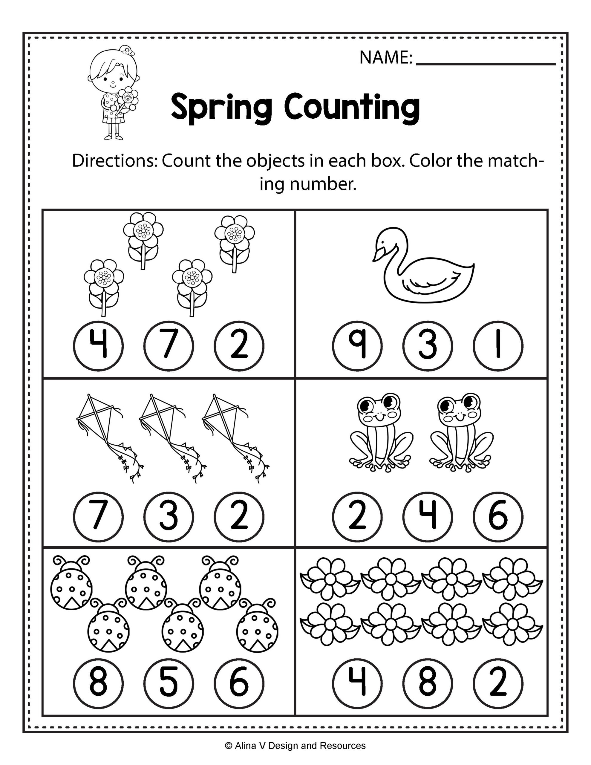 Kumon Nyc Sequencing With Pictures Printable Numbers Up To