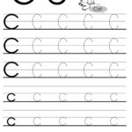 Letter C Tracing Worksheet For Esl Teachers   Alphabet