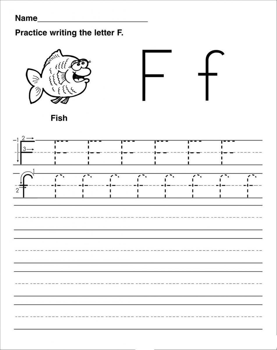 Letter F Worksheet Activities | Preschool Worksheets In