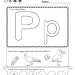 Letter P Worksheets For You. Letter P Worksheets   Alphabet