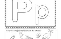 Letter P Worksheets For You. Letter P Worksheets – Alphabet