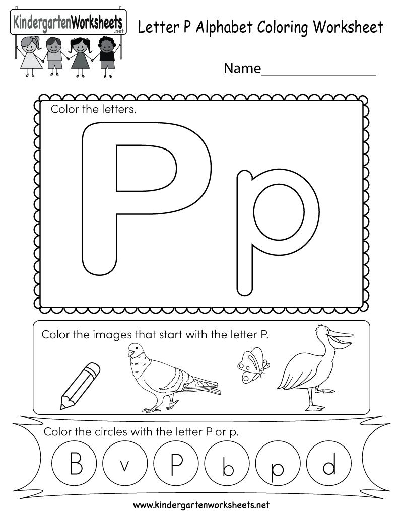 Letter P Worksheets For You. Letter P Worksheets - Alphabet