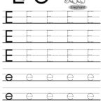 Letter Tracing Worksheets Letters A J | Tracing Worksheets