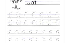Preschool Worksheets Letter C