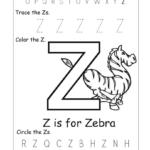 Letter Z Worksheets   Letter Worksheets For Preschool